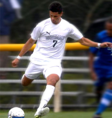 men's soccer player Frankie Pena