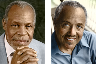 Danny Glover and Felix Justice