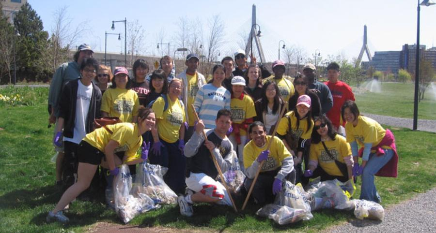 Community Engagement Volunteering Cleanup