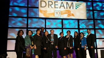 Achieving the Dream Award Photo