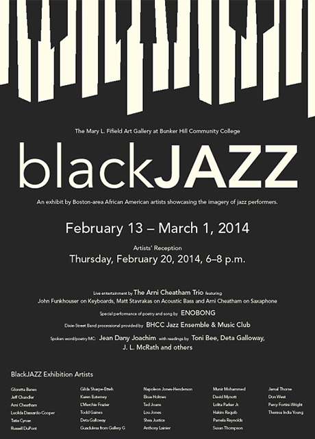 Art Gallery Black Jazz