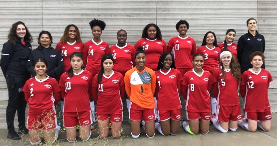 Womens Soccer Team 2018