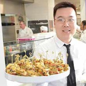 Culinary Arts chef and his creation