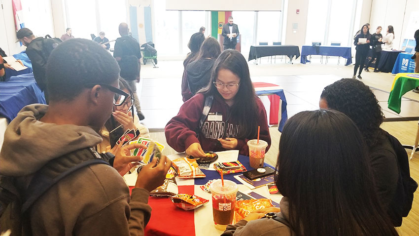 BHCC Students preparing for BHCC Early-College goes to UMass Boston