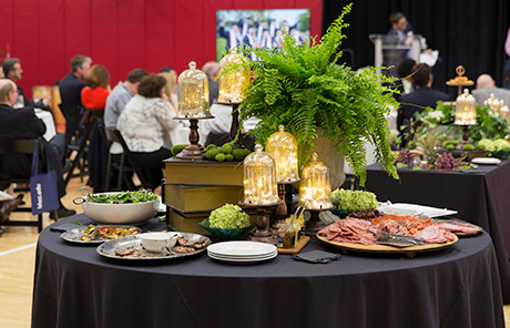 the food at the 2018 gala