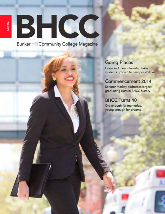 BHCC Magazine Fall 2014 cover