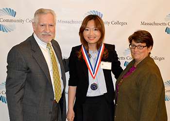 Phi Theta Kappa's All-Massachusetts Academic Team ceremony Linh Dang