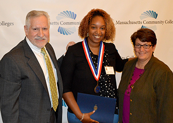 Phi Theta Kappa's All-Massachusetts Academic Team ceremony Nadine Borges