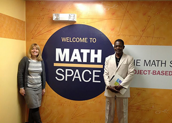 Humphrey Fellows visit MathSpace