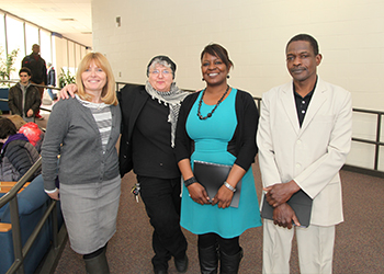 Humphrey Fellows visit BHCC
