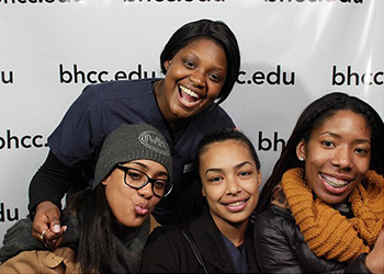 We Are BHCC photo booth