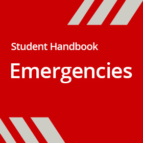 Student Handbook - Emergencies