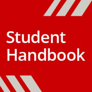 The Student Handbook title page