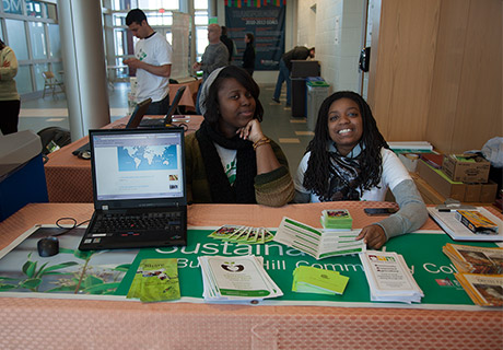 Sustainability club event