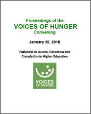 Proceedings of the VOICES OF HUNGER Convening thumbnail